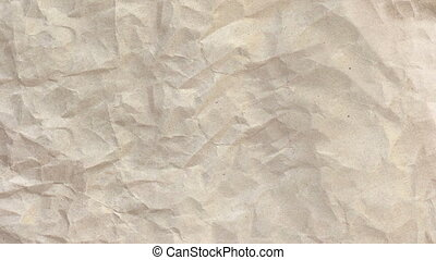 Wrinkled Newsprint Paper Texture - A dynamic, wrinkled,...