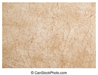 wrinkled paper great as a background isolated on white