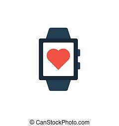 wrist flat icon