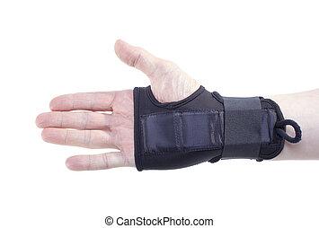 Wrist guard.