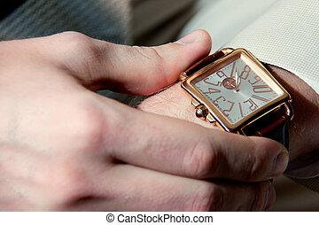 Wrist Men's Watch