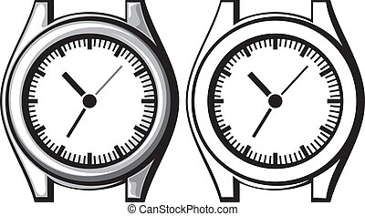 wrist watch - hand watch - wrist watch (wristwatch, hand...