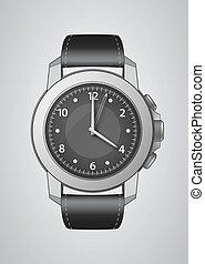 Wrist Watch  - Vector Wrist Watch Illustration