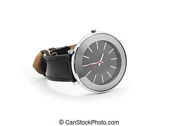 wrist watch on white background