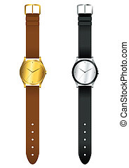 Wrist Watch - Vector illustration of wrist watch