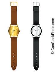Wrist Watch - Vector illustration of wrist watch