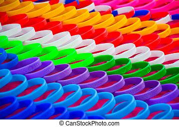 wristband, colorido