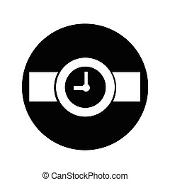 Wristwatch Icon illustration design