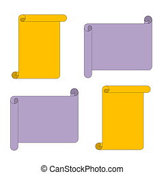 Write a message yellow and purple