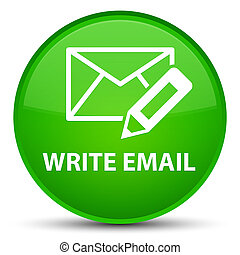 Write email special green round button