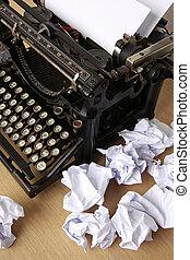 writer?s, εμποδίζω