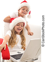 Writing a letter to santa - computer generation style