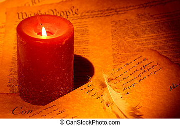 Writing By Candle