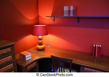 writing desk interior