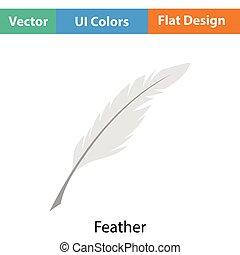 Writing feather icon