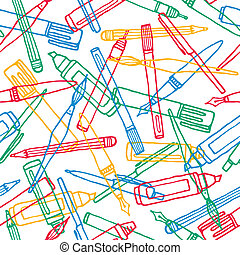 Writing instruments texture background pattern