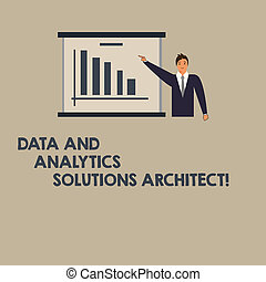 Writing note showing Data And Analytics Solutions Architect...