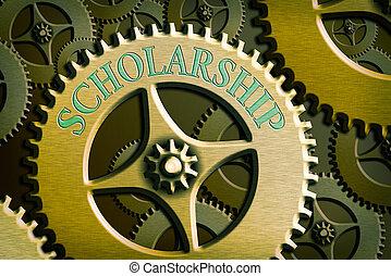 Writing note showing Scholarship. Business photo showcasing ...