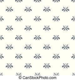 Writing pattern vector seamless