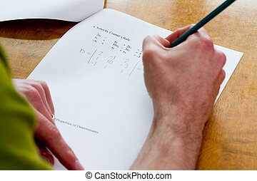 Writing test - Adult writing test