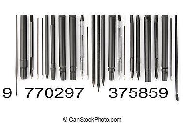 Writing tools barcode