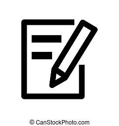 Writing Web Icon - msidiqf