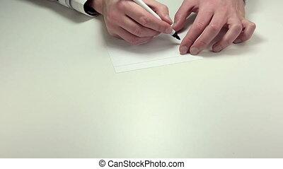 Written note By TT
