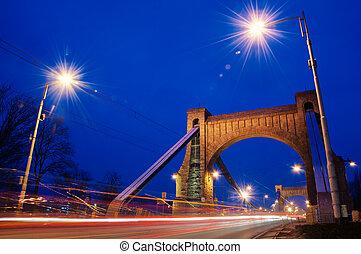 wroclaw, γέφυρα , πάνω , ποτάμι , oder
