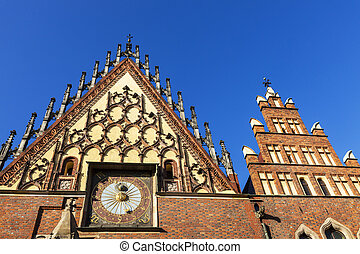 Wroclaw City Hall on Market Square