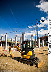 wroclaw, construction, football, site, stade