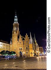 wroclaw, hôtel ville