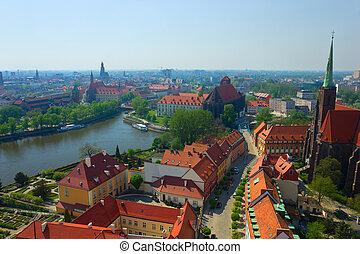 wroclaw, polônia, antigas