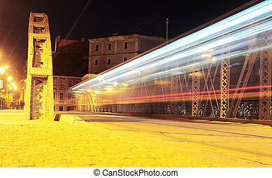wroclaw, por la noche