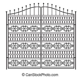 Wrought Iron Gate, Door, Fence, Window, Grill, Railing Design