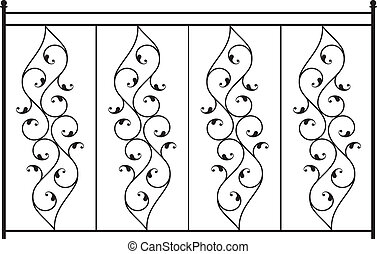 Wrought Iron Gate, Door, Fence, Window, Grill, Railing...