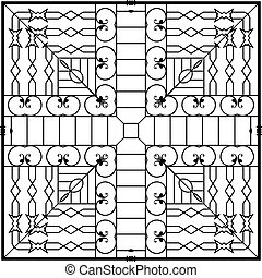 Wrought Iron Grill, Gate, Door, Fence, Window, Railing Design