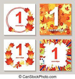 wrzesień, 1, komplet, karta