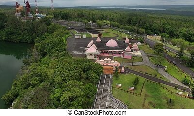 WS Temple of Lord Shiva near Grand Bassin, Port Louis, Mauritius.