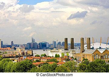 wschód, londyn