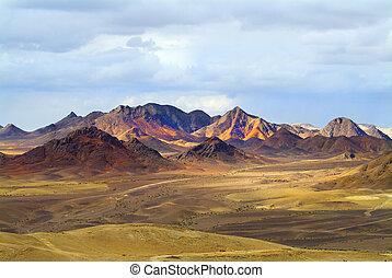 wspaniały, krajobraz
