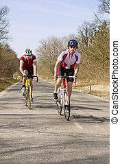 wspinaczkowy, rowerzyści