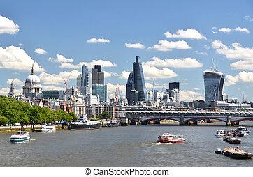 wszerz, rzeka, londyn, tamiza