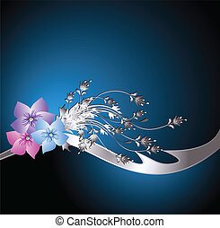 wth, fleurs, fond