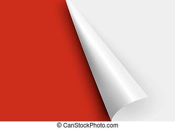 paper corners.