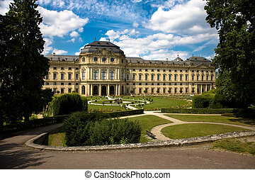 Wuerzburg Residence with the Court Gardens and Residence Square (UNESCO)