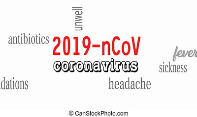 Wuhan coronavirus 2019-nCoV concept. Dangerous chinese nCoV coronavirus.