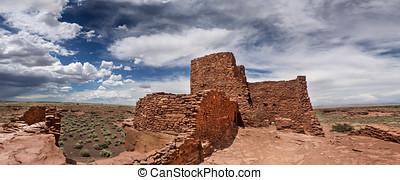 Wukoki Ruins complex in Wupatki national monument, Arizona