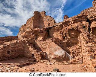 Wupatki pueblo ruins  National Monument, Arizona