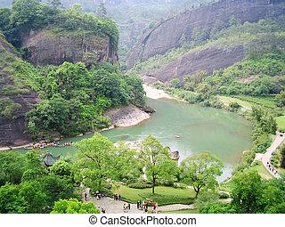 wuyishan, natura, scenario