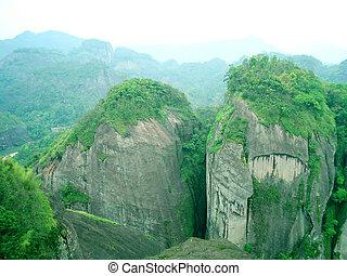 wuyishan, nature, paysage